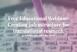 Creating the infrastructure for translational research